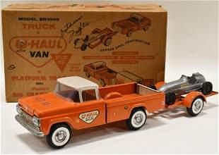 Nylint Ford U-Hual Truck w/ Trailer & Racer