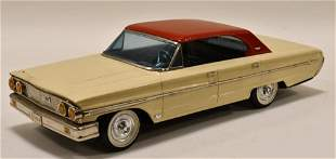 Rico Tin Friction 1960's Ford Galaxy 500Xl