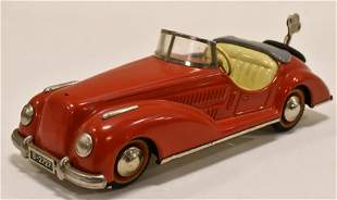 German Distler Windup Mercedes-Benz Convertible