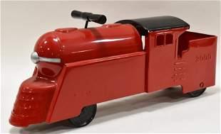 Restored Marx Ride On Train Locomotive 3000