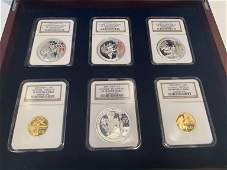 2008 Beijing Olympics Gold & Silver Proof Coin Set