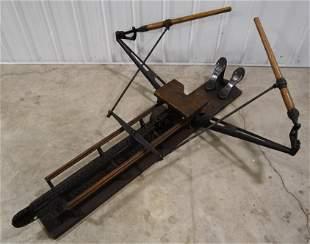Early Joe Louis' s Wright & Ditson Rowing Machine