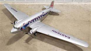 Large Eastern Airlines Promotional Airplane Model