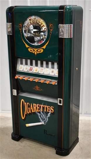 Restored Rowe Cigarettes Coin Op Vending Machine