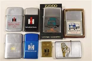 Vintage International Harvester Promo Lighter Lot