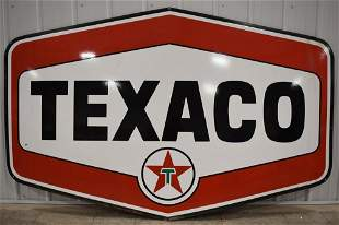 7ft DSP Texaco Service Station Advertising Sign