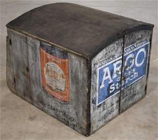 Ford Model T Flatbed Truck Advertising Storage Box