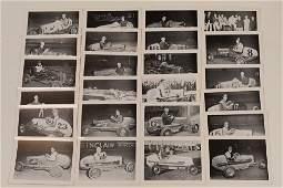 Vintage Promotional Midget Racing Photo Card Lot