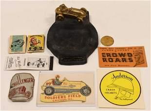 Vintage Midget Racing Memorabilia Lot