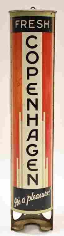 Vintage Copenhagen Tobacco Tin Store Display