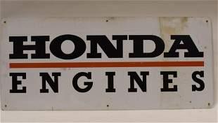 Large Vintage SST Honda Engines Adv Sign