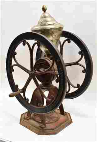 Cast Iron Henry Troemner Mercantile Coffee Grinder
