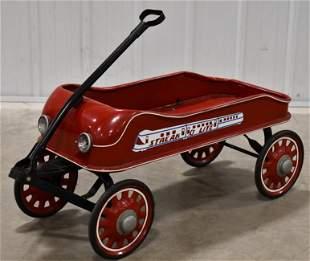 Vintage Radio Flyer Streak O Lite Wagon