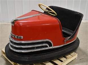 Vintage Dodgem Amusement Park Bumper Car