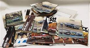 150+ 1970's Chevrolet Dealer Brochures