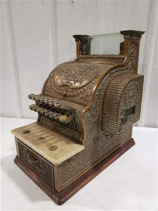 Vintage National No.51 Candy Store Cash Register