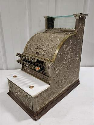 Vintage National No.312 Candy Store Cash Register
