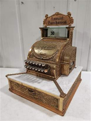 Vintage National Cash Register Model No. 52 1/4