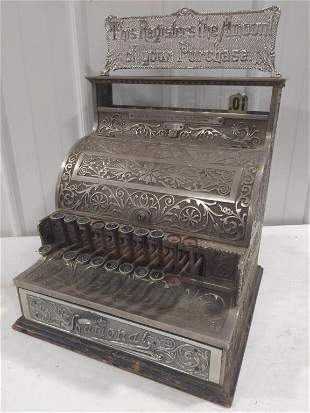 Vintage National Cash Register Model No. 7
