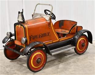 Gendron Rolls Royce Fire Chief Pedal Car