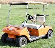 Custom Clemson Club Car Electric Golf Cart