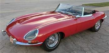 "1962 Jaguar E-Type XKE ""Flat Floor"" Roadster"