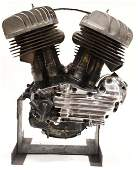 1948 Harley-Davidson WL Engine Incomplete