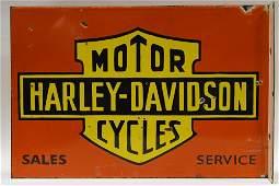 DSP Flange Harley-Davidson Dealer Fantasy Adv Sign