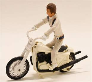 1972 Ideal Evel Knievel Stunt Cycle