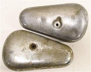(2) Vintage HD Knucklehead Panhead Kidney Tool Box