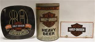 Vintage Harley-Davidson Advertising Lot