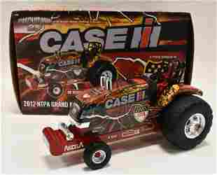 1/16 Case IH Magnumator 25 Pulling Tractor w/ Box