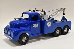 "All American Toy Co. ""Ole Blue"" Tow Truck Wrecker"
