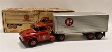 Marx Private Label A&P Super Markets Truck w/ Box