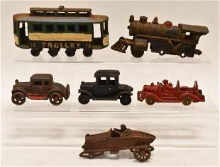 Lot Of Contemporary Cast Iron Toys