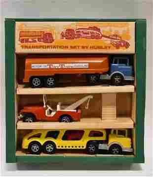 Hubley Transportation 3 Piece Truck Set In Box