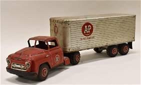 Marx Lumar A&P Super Markets Truck & Trailer