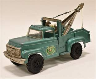 Hubley Mighty-Metal Tow Truck