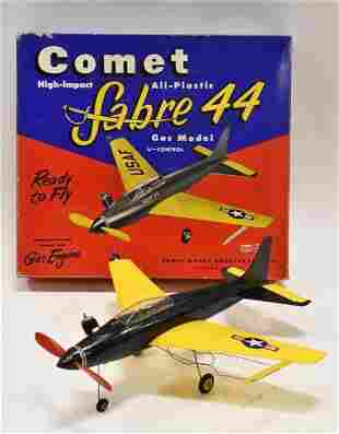 Comet Sabre 44 Gas Model Plane w/ Herkimer Engine