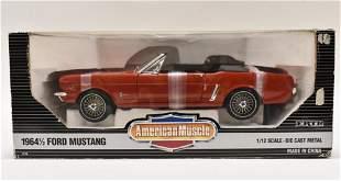 Ertl 1/12 1964 1/2 Ford Mustang American Muscle