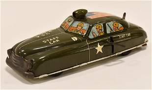Marx Tin Litho Windup U.S Army Staff Car