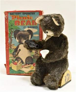 Alps Battery Operated Picnic Bear