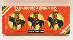 Britains Royal Canadian Mounted Police Set # 7236