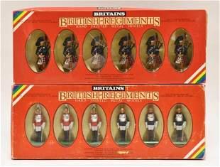 Britains Hand Painted Models Set No. 7241 & 7227