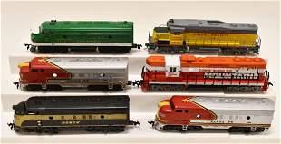 HO Scale Diesel Engines & F7 Dummies