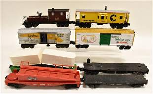 Mixed Lot Of Lionel & Railking O-Gauge Cars