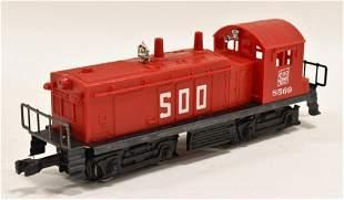 Lionel #8569 Soo Lines NW2 Diesel Switcher