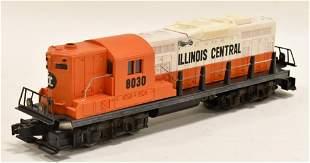 Lionel #6-8030 Illinois Central GP-9 Diesel Engine