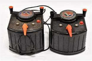 (2) Lionel Type-KW 190 Watt Transformers