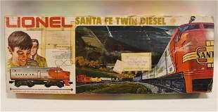Lionel 6-1285 Santa FE Twin Diesel Train Set